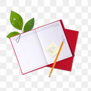 Notebook - Paper Notebook Pencil PNG