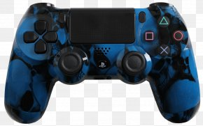 Blue Skull - PlayStation 2 PlayStation 4 Xbox 360 Game Controllers PNG