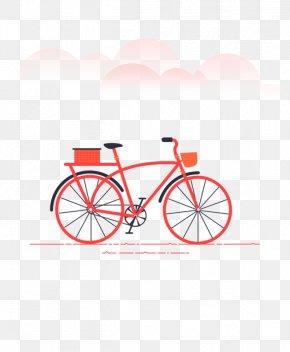 Cartoon Bicycle - Bicycle Wheel Splash Screen PNG
