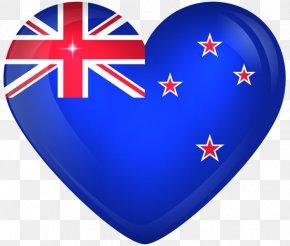 Flergs Grateful Heart - Flag Of New Zealand Flag Of Australia National Flag PNG