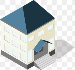 Building High-rise Town Urban Real Estate - House Roof Architecture Property Daylighting PNG