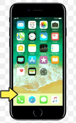 Iphone - IPhone 7 Plus IPhone 8 IPhone X Apple Telephone PNG
