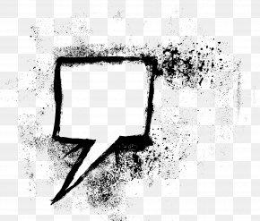 Text Box - Speech Balloon Drawing Text PNG