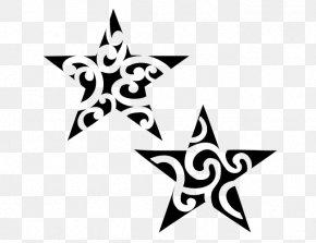 Star Tattoos Image - Tattoo Polynesia Māori People Star Tā Moko PNG