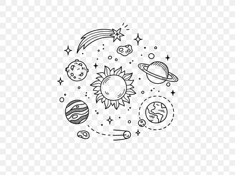 Earth Doodle Outer Space Drawing Planet Png 564x612px Earth Area Astronaut Astronomical Symbols Astronomy Download Free