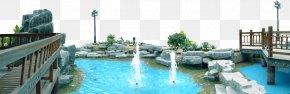Park - Park Fountain Lake PNG