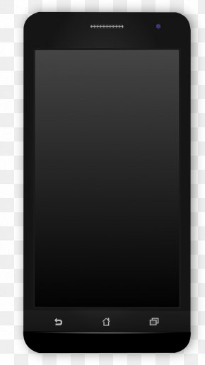 Black Phone - Samsung Galaxy S Series Feature Phone Smartphone Mobile Device Android PNG