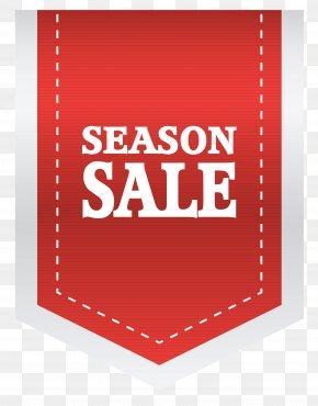 Red Season Sale Label Clipart Picture - Label Sticker Clip Art PNG