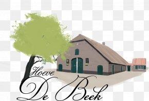 Full Colour - VOF Hoeve De Beek Logo Farmhouse Australia Font PNG