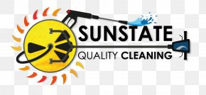 Cleaning Logo - Sunstate Quality Cleaning LLC Janitor Commercial Cleaning Maid Service PNG