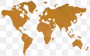 World Map - World Map Wall Decal PNG