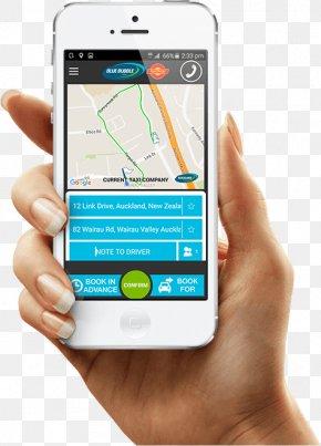 Taxi App - Mobile Phones Mobile Web Smartphone Mobile App Development PNG