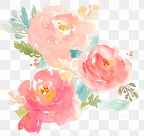 Bouquet Watercolor - Watercolor Painting Peony Clip Art PNG