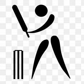 Cricket Vector - 1900 Summer Olympics Olympic Games Cricket Bats Batting PNG