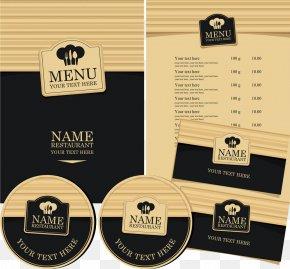 Vintage Menu Vector - Cafe Menu Wine List Restaurant PNG