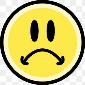 Sad Emoji - Face Sadness Smiley Emoticon Clip Art PNG