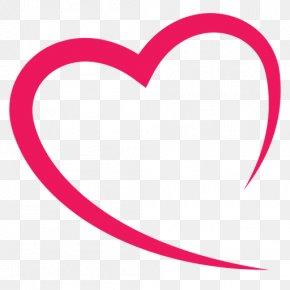 Valentine's Day - Pink M Valentine's Day Line Clip Art PNG