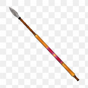 Cold Weapon Spear - Spear Weapon Arrow Icon PNG