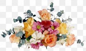 Elegant Bouquet - Flower Bouquet Ikebana Birthday Garden Roses PNG