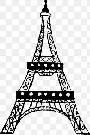 Eiffel Tower Transparent - Eiffel Tower Drawing Clip Art PNG