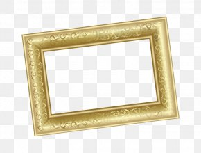 Vector Gold Frame - Picture Frame Computer File PNG