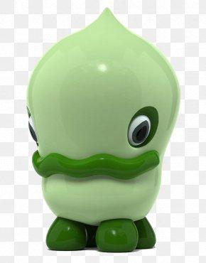 Green Porcelain Monster Toys - Artist Sculpture Illustrator PNG