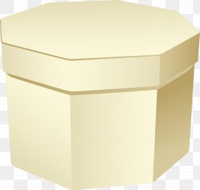 Yellow Trash Can - Box Rectangle PNG