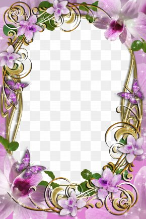 Delicate Frame Cliparts - Picture Frames Molding Clip Art PNG