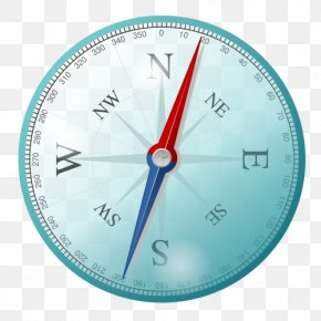 Compass - North Points Of The Compass Cardinal Direction West PNG