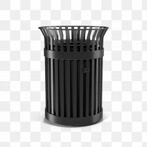 Metal Trash Can - Waste Container Metal PNG