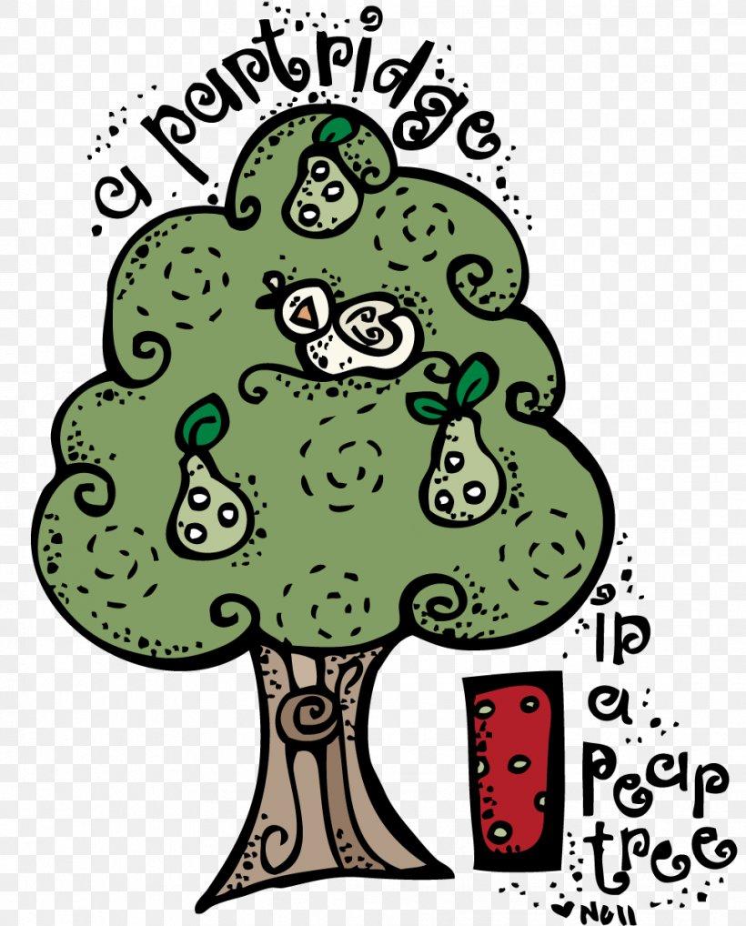 Twelve Days Of Christmas Pear Clip Art
