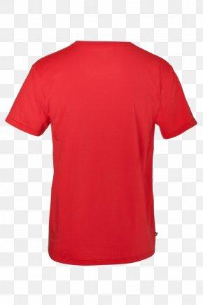 Tshirt - T-shirt Organic Cotton Red Clothing PNG