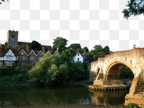 England Charming Scenery Four - Aylesford London River Medway Hotel Wallpaper PNG