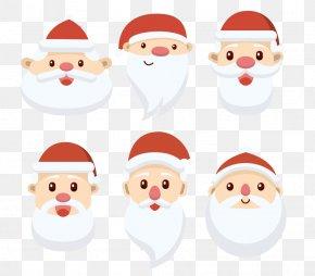 Santa Claus Avatar - Santa Claus Christmas Card Clip Art PNG
