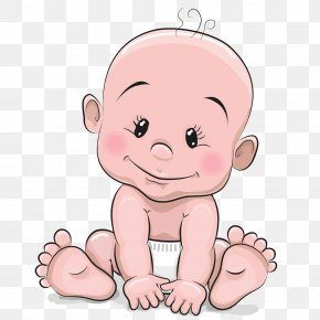 Cartoon Cute Baby - Cartoon Infant Royalty-free Stock Photography PNG