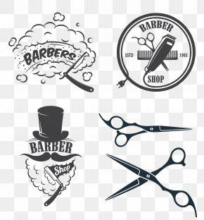 Salon - Barber Hairdresser Logo Beauty Parlour PNG