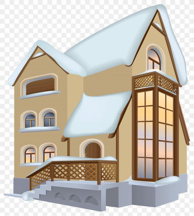 Winter House Clip Art, PNG, 5340x5963px, Winter, Blog, Building, Cottage, Elevation Download Free