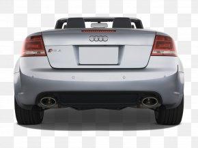 Car - Audi Cabriolet Mid-size Car Motor Vehicle Bumper PNG