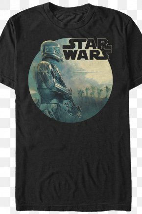 Star Wars T Shirt - T-shirt Death Troopers Chewbacca Star Wars Anakin Skywalker PNG