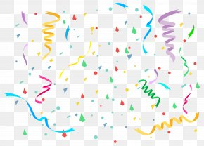 Confetti Clipart Image - Birthday Cake Clip Art PNG