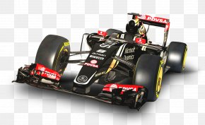 Red Lotus E23 F1 Car - Lotus Cars 2015 FIA Formula One World Championship Lotus F1 Lotus E23 Hybrid PNG