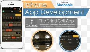 Smartphone - Smartphone Mobile App Development Responsive Web Design Software Development PNG