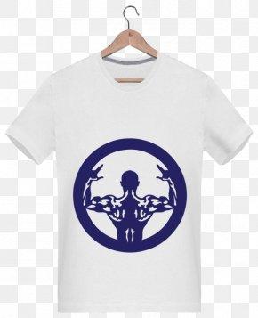 T-shirt - T-shirt Blue Crop Top Sleeve Spreadshirt PNG