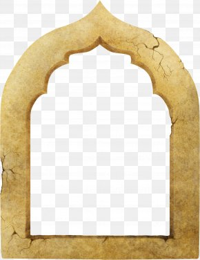 Brown Crack Windows - Window Arch Wall Clip Art PNG