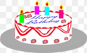 Free Pictures Of Birthday Cakes - Birthday Cake Cupcake Clip Art PNG