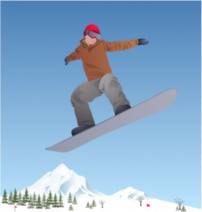Snowboard Cliparts - 2014 Winter Olympics Olympic Games Snowboarding At The 2018 Olympic Winter Games Clip Art PNG