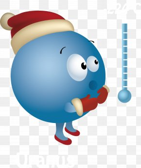 Cold Planet - Thermometer Cold Clip Art PNG