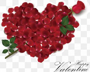 Creative Valentines Day - Wedding Invitation Valentines Day Heart Rose PNG