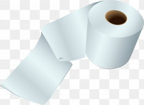 A Roll Of Toilet Paper Vector Material - Material Angle Cylinder PNG