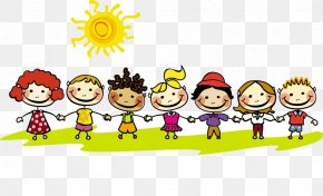 Hand In Hand To Make English Game Kids - Summer Vacation Child Academic Term PNG